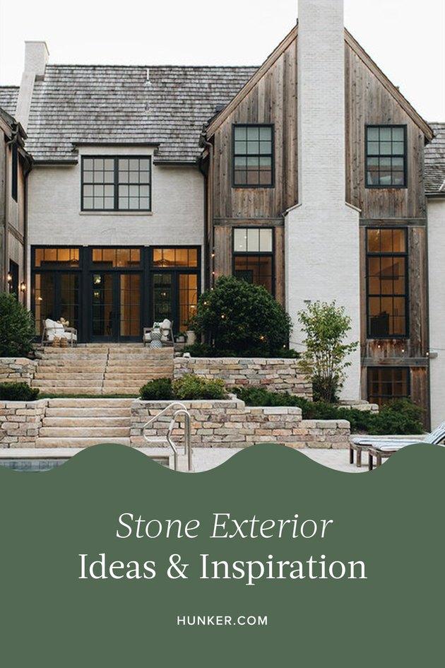 Stone Exterior Homes Ideas and Inspiration