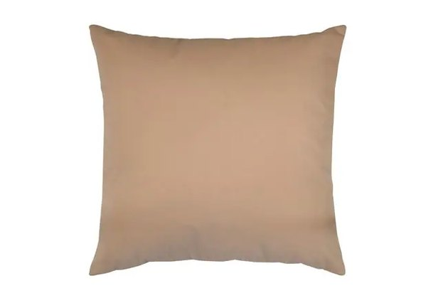 blush accent pillow