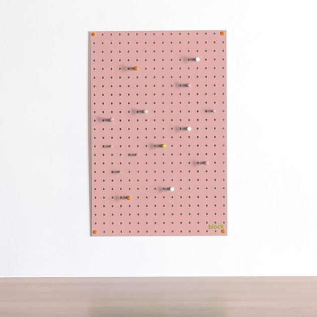 pink pegboard