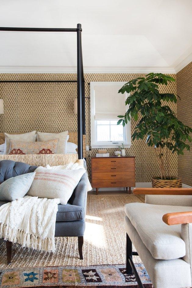Window shade bedroom window treatment ideas