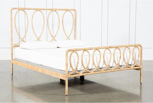 cane bedframe