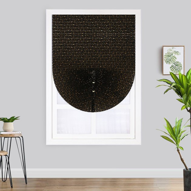 DYstyle Self Adhesive Blackout Pleated Blind, $12.09