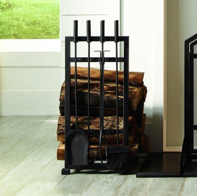 target fireplace tool set