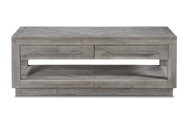 grey coffee table
