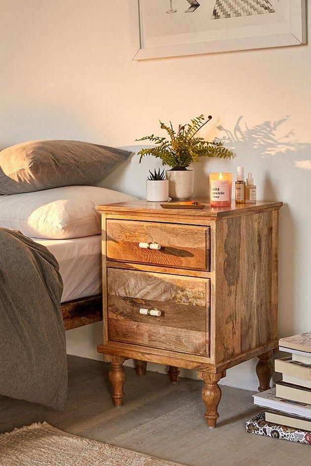 Boho nightstand
