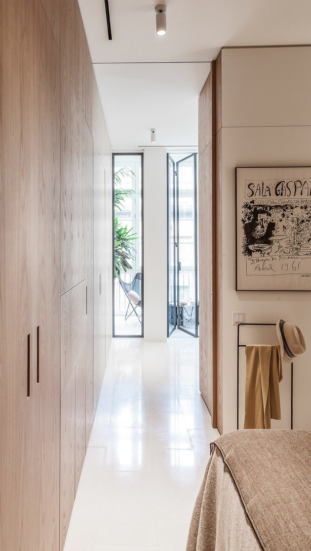 Built-ins in a hallway