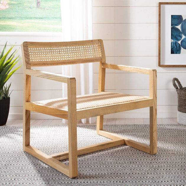 Safavieh Lula Cane Accent Chair, $242.29