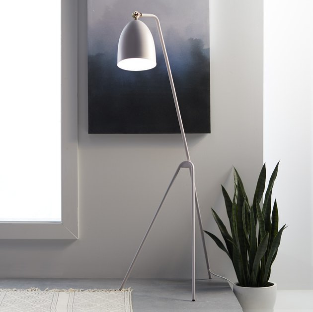 MoDRN Scandinavian Grasshopper Floor Lamp, $138