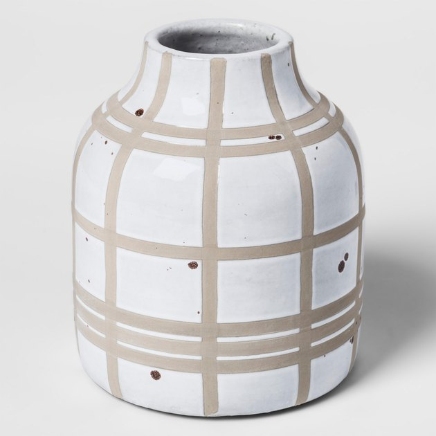 Threshold Grid Vase, $14.99
