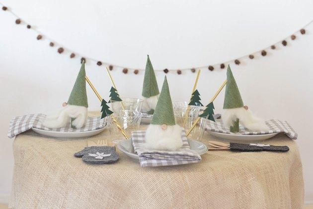 DIY Santa gnomes