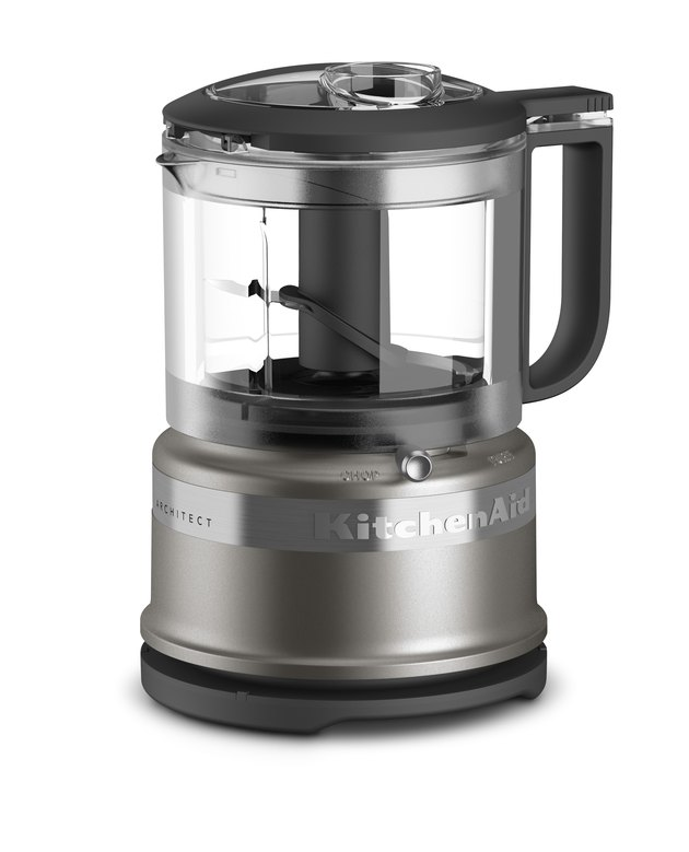 grey food processor
