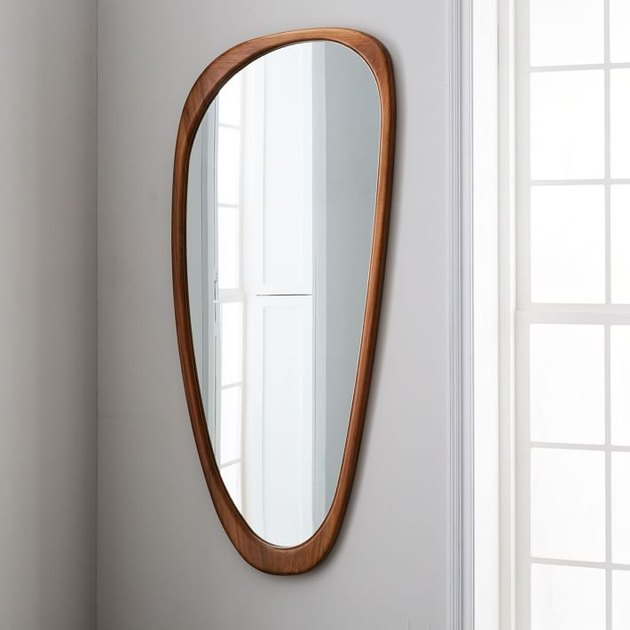 Midcentury Decorative Object - West Elm Midcentury Asymmetrical Floor Mirror