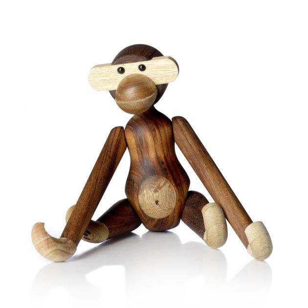 Midcentury Decorative Object -- Kay Bojesen Wooden Monkey