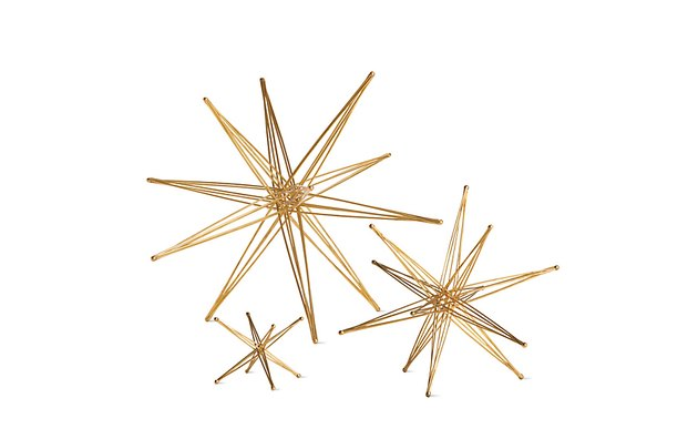 Foldable Star Sculptures - Midcentury Decorative Object