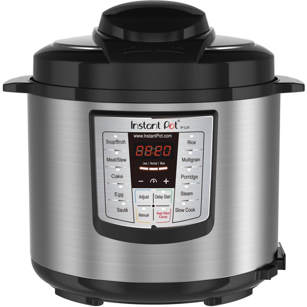 grey and black Instant Pot