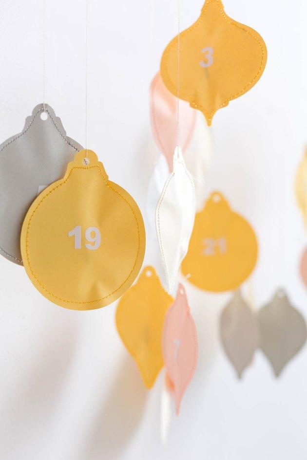 Paper Advent Calendar DIY