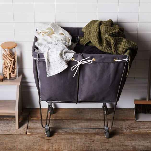 Steele Canvas Basket Corp Elevated Laundry Basket