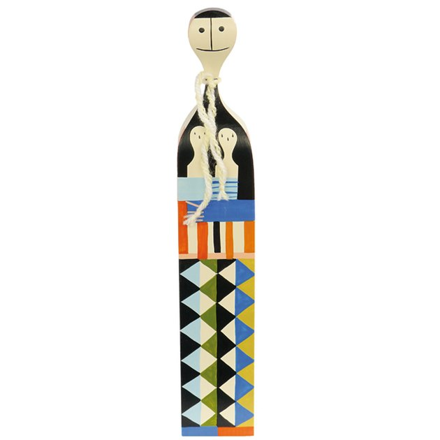Midcentury Decorative Object - Alexander Girard Wooden Doll 5 by Vitra