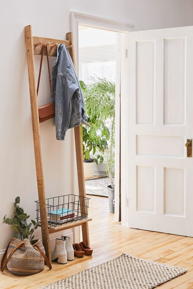 Urban Outfitters Devon Entryway Leaning Storage Rack, $149