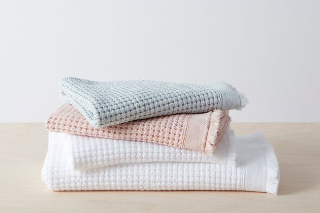 textured towel set