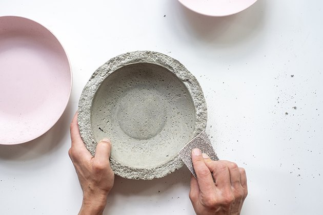comment faire un bol en béton