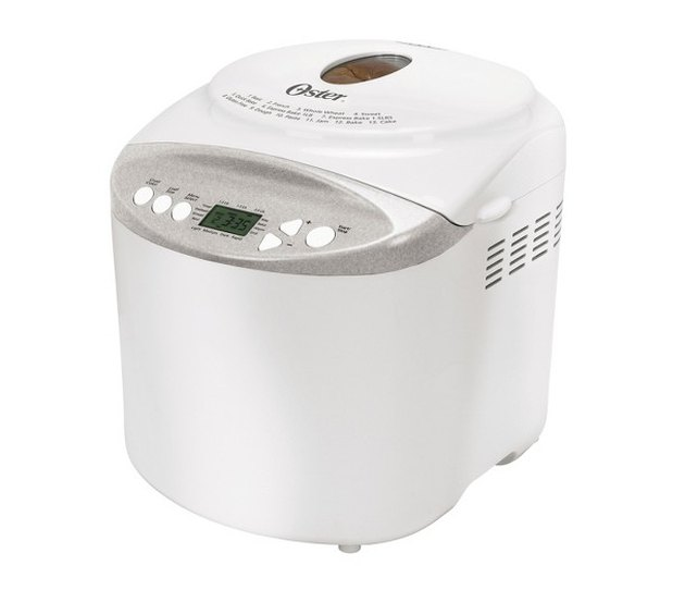 White Kitchen Appliances: Oster Breadmaker