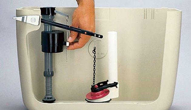 Simple toilet repair.