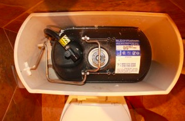 Pressure-assist toilet.