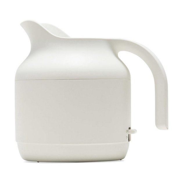 White Kitchen Appliances: MUJI Electric Kettle