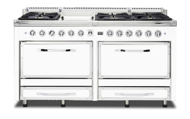 White Kitchen Appliances: Viking Tuscany Range