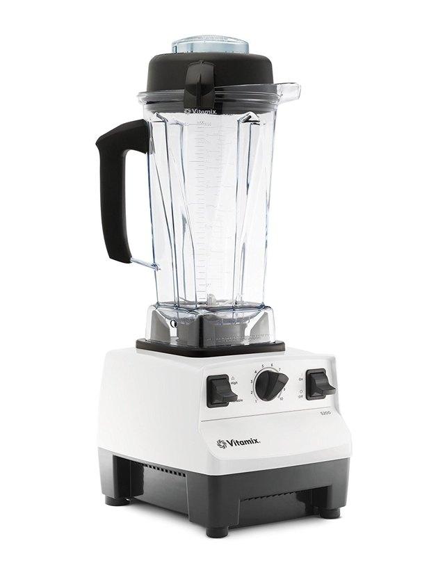White Kitchen Appliances: Vitamix Blender