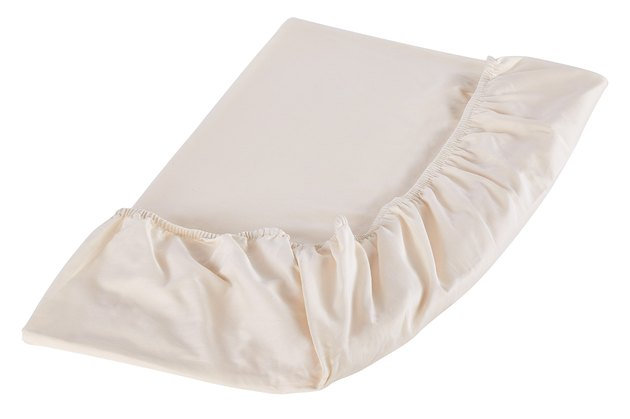 folded fitted bed sheet
