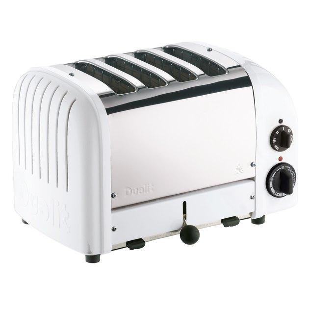 White Kitchen Appliances: Dualit Four-Slice NewGen Toaster