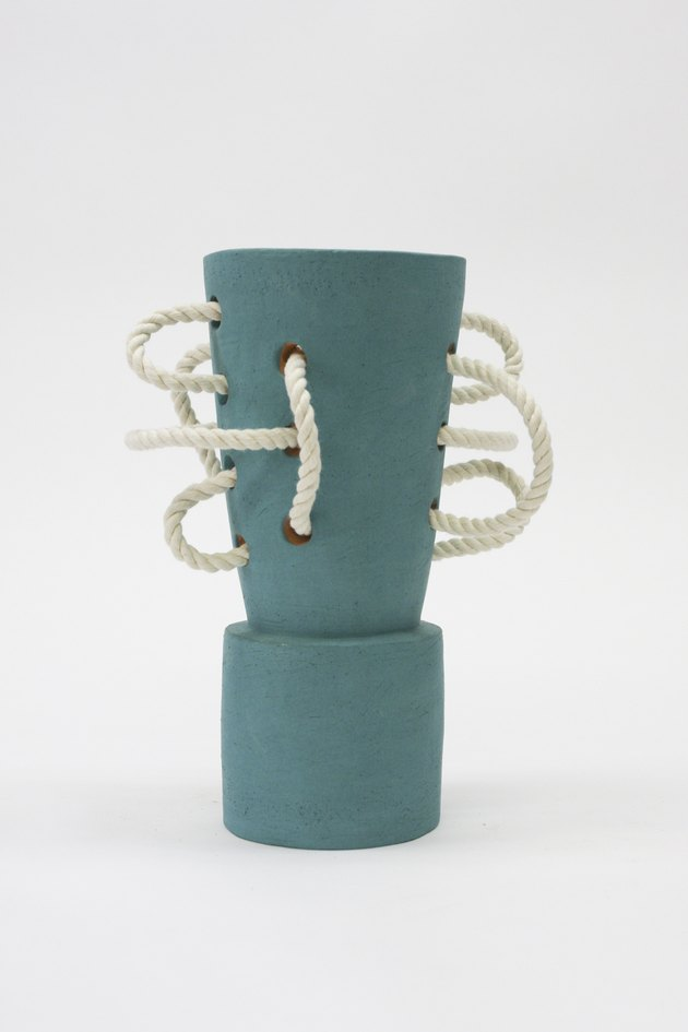 Ceramic vase by B Zippy