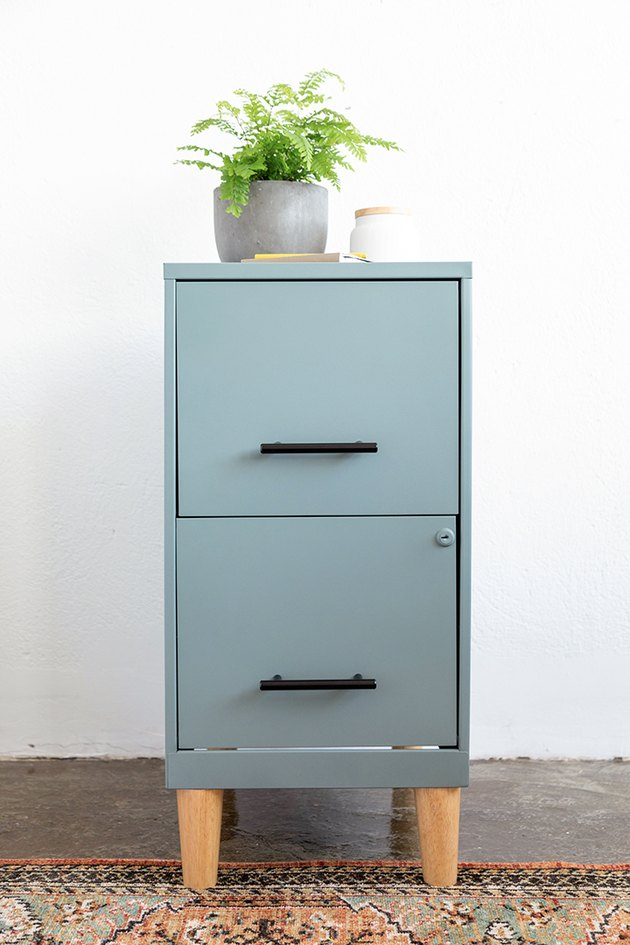 How to transform an old filing cabinet