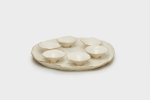 Isabel Halley Ceramic Seder plate