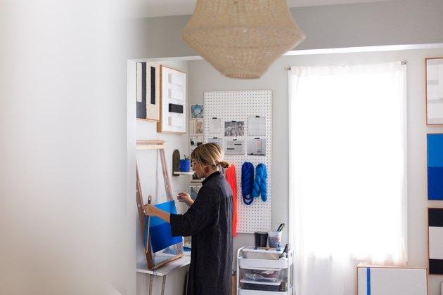 Shelly Sazdanoff's home/studio