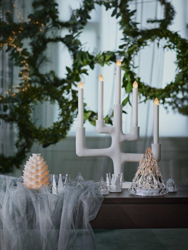 holiday candelabra