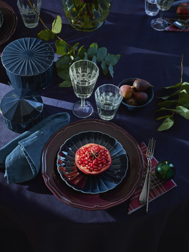 jewel tone plates
