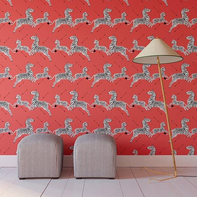 the inside x Scalamandré Wallpaper