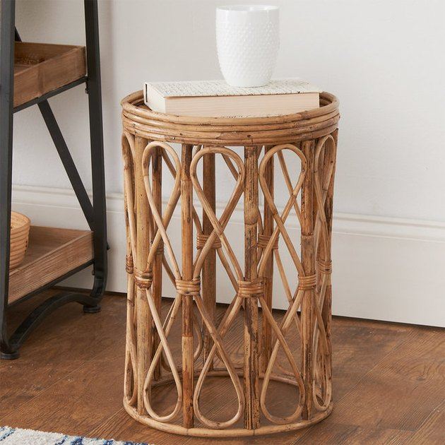 Shades Of Light Curvy Cane Side Table