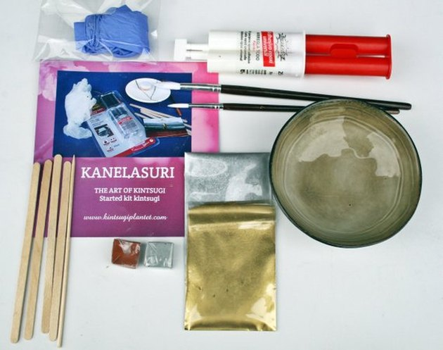 DIY: Kintsugi Started Kit with handcraft bowl