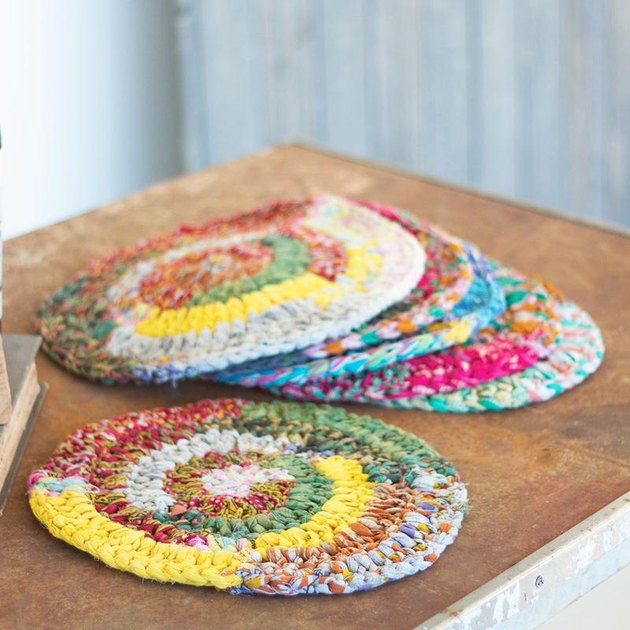 knit placemats
