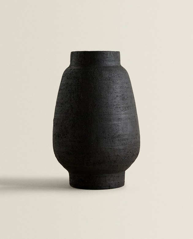 decorative terracotta vase