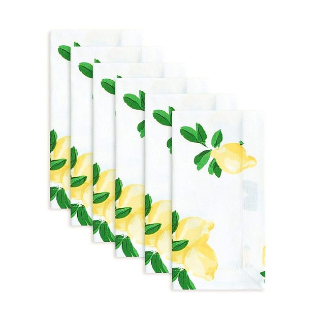 lemon napkin set