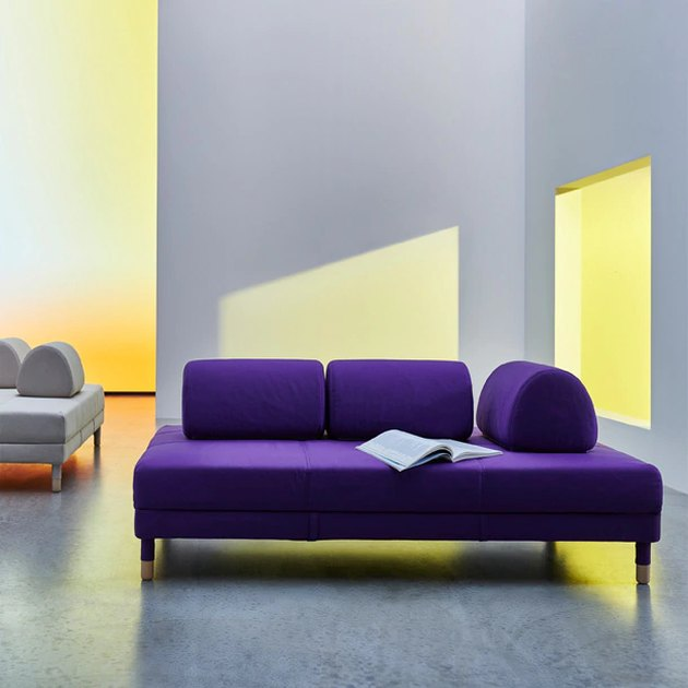 purple sleeper sofa