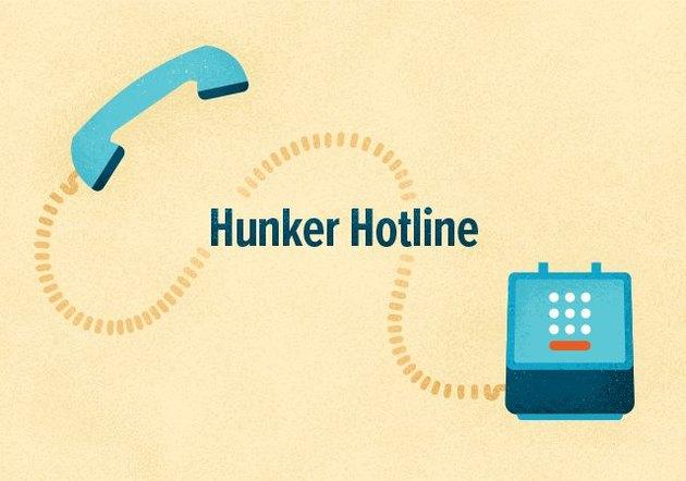 Hunker Hotline logo