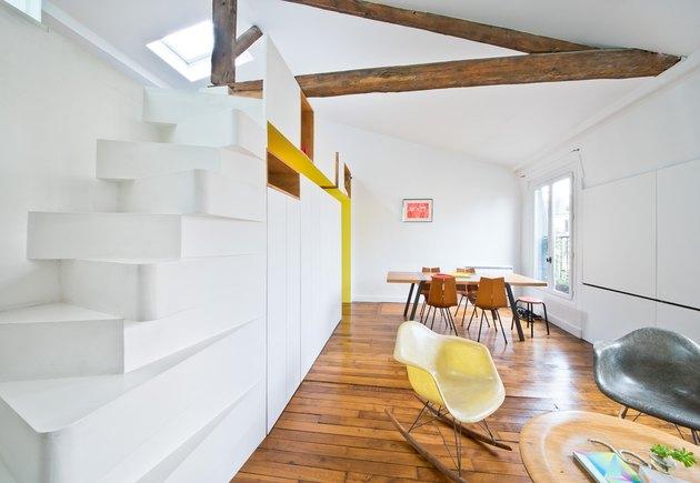 paris apartment living room