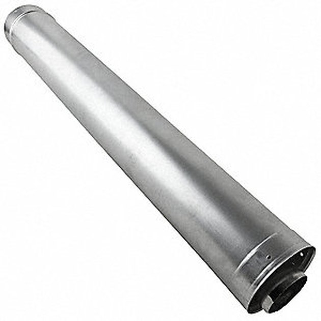 Direct-vent pipe.