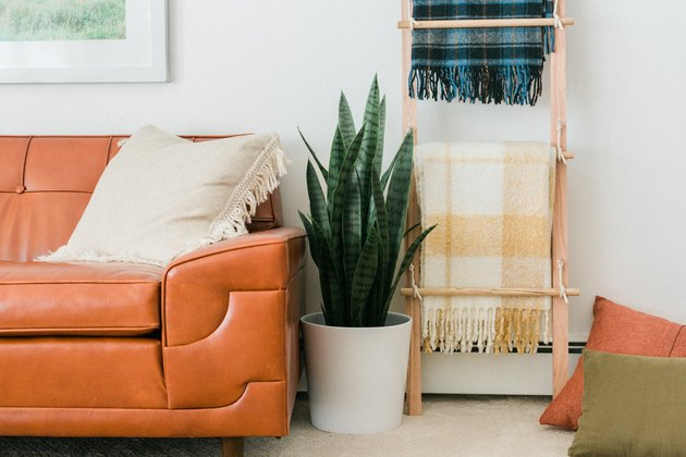 Learn to make your own DIY Swing Arm Blanket Rack and Ladder this fall.